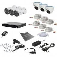 Комплект видеонаблюдения Tecsar 6MIX 2MEGA