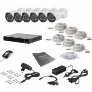 Комплект видеонаблюдения Tecsar 6OUT 2MEGA