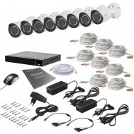 Комплект видеонаблюдения Tecsar 8OUT 2MEGA