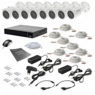 Комплект видеонаблюдения Tecsar 8OUT 5MEGA