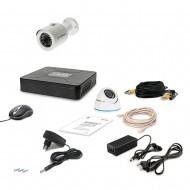 Комплект видеонаблюдения Tecsar 2OUT-MIX LUX