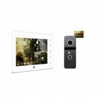 Комплект домофона NeoLight ZETA+ HD WF + вызывная панель Solo FHD